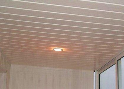 Отличный подвесной потолок из пластика