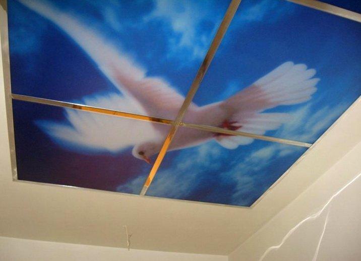 Особый дизайн на потолке - украшение интерьера