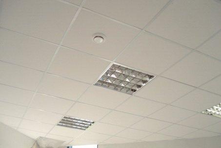 Потолок из подвесной плитки может быть сделан своими руками