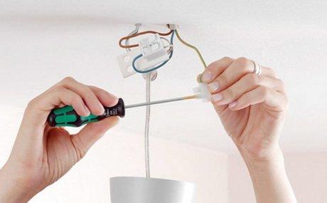 Для соединения проводов необходимо использовать клемные соединители
