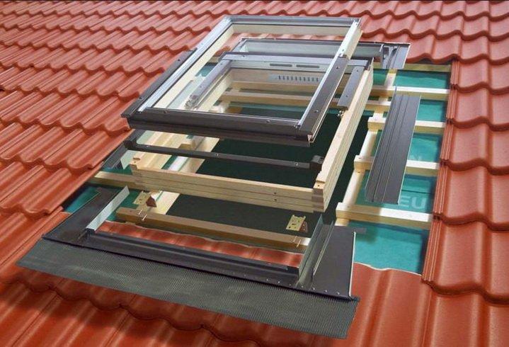 Окна для мансарды - врезк делается по схеме