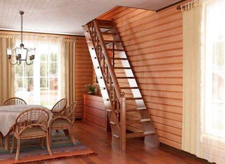 Лестница на мансардный этаж - важный элемент конструкции