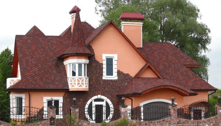Скатные крыши - многообразие форм и конструкций
