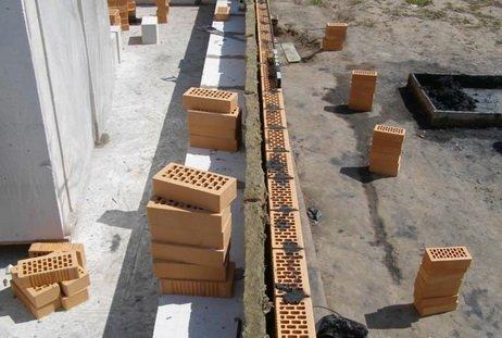 Строительство трехслойной стены
