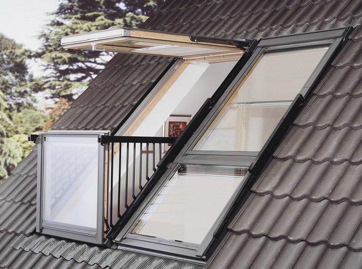 Окна балконы - новая функциональная особенность