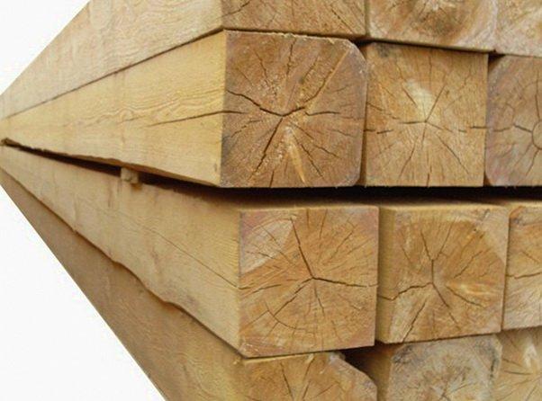 Ель - строительный материал для сухих мест