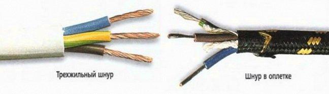 Проводники имеют разную окраску