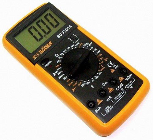 Мультиметр позволяет делать разные измерения