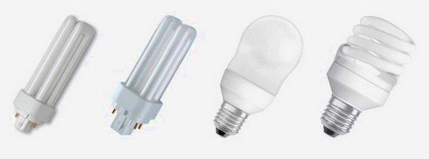 Энергосберегающие лампы различной кофигурации