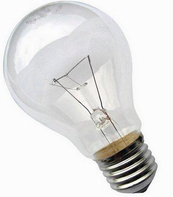 Лампа накаливания не изменилась с давних времен