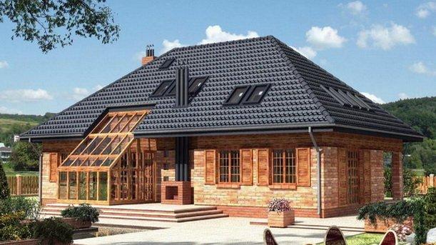 Четырех скатная крыша - сложное строительство