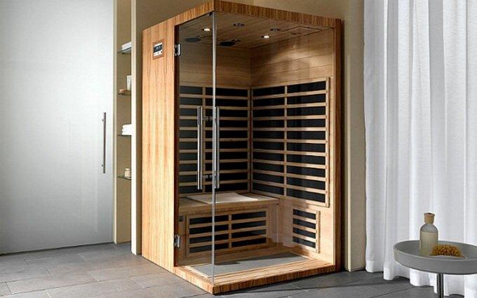 В доме находится особенная конструкция для банных процедур