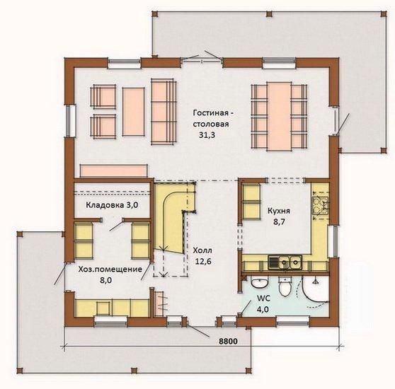Тамбур в доме — какую планировку выбрать и особенности конструкции