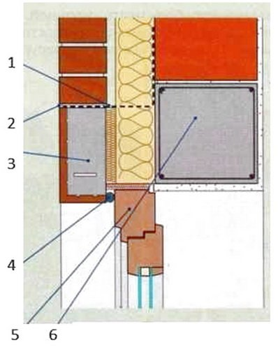 Железобетонные перемычки в трехслойной стене