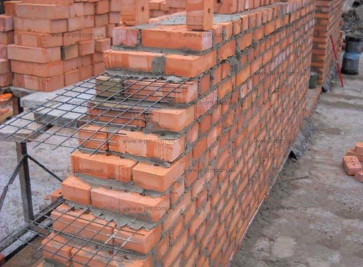 Армированная несущая стена для дома