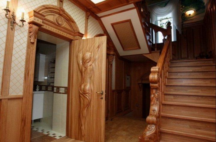 Распашные фигурные двери - новый дизайн помещения