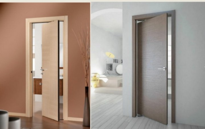 Роторные двери - весьма практичные и удобные