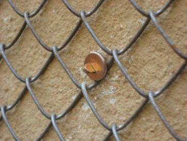 Сетка из металла анкеруется