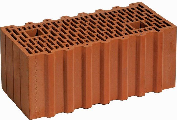 Керамический блок делается из глины с опилками