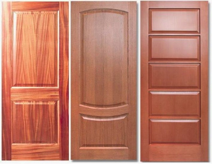 Межкомнатные двери могут быть без стекла