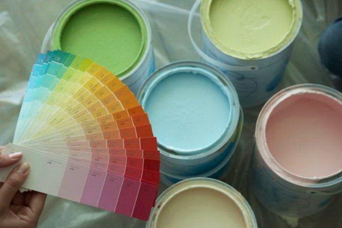 Краска должна быть выбрана правильно