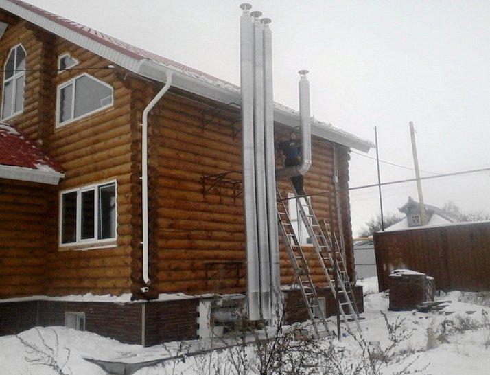 Деревянный дом - обеспечивается эффективной вентиляцией