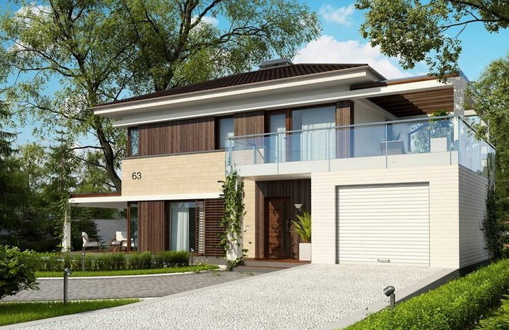 Планировка двухэтажного частного дома — правильный выбор