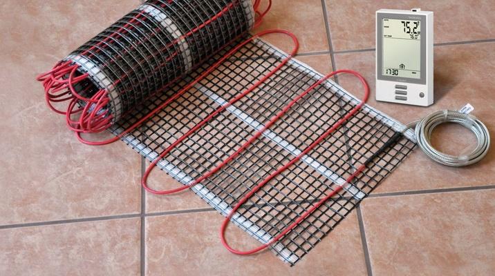 Электрический кабель для теплого пола