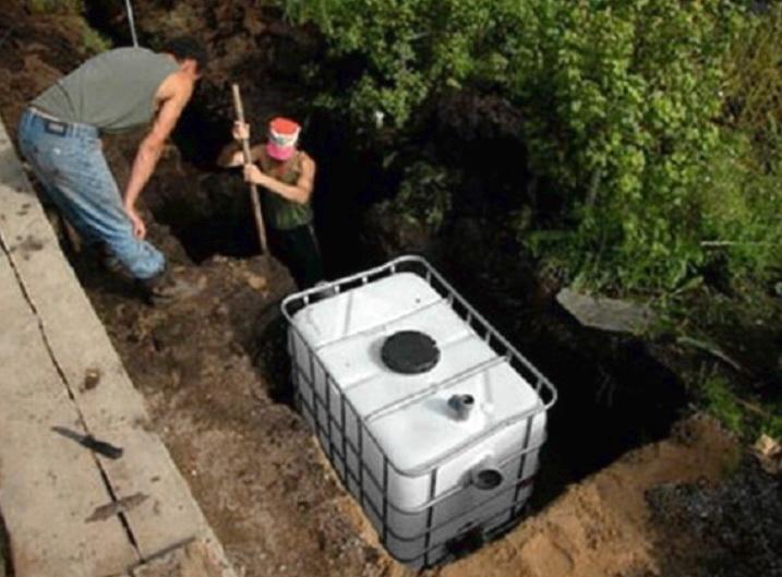 Найдешевейшая канализация для частного дома
