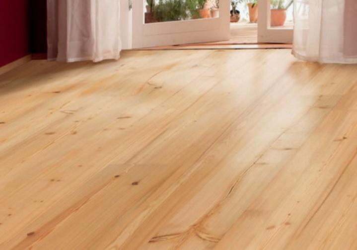 Деревянный пол в моде