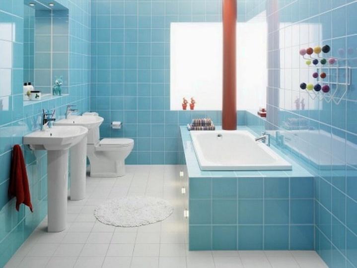 Обкладка плиткой ванной комнаты