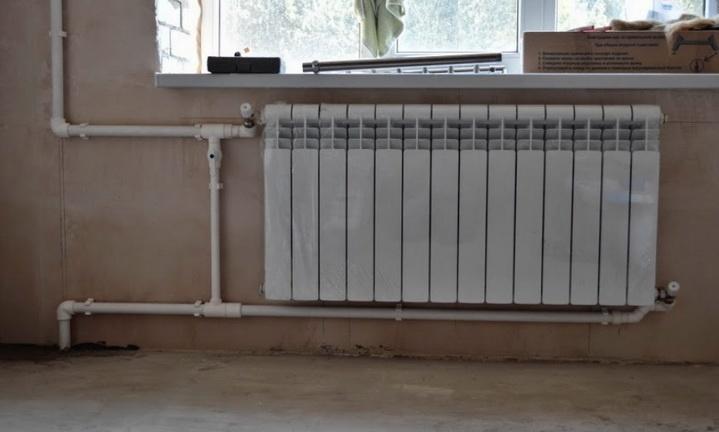 Пример подключение радиатора в квартире
