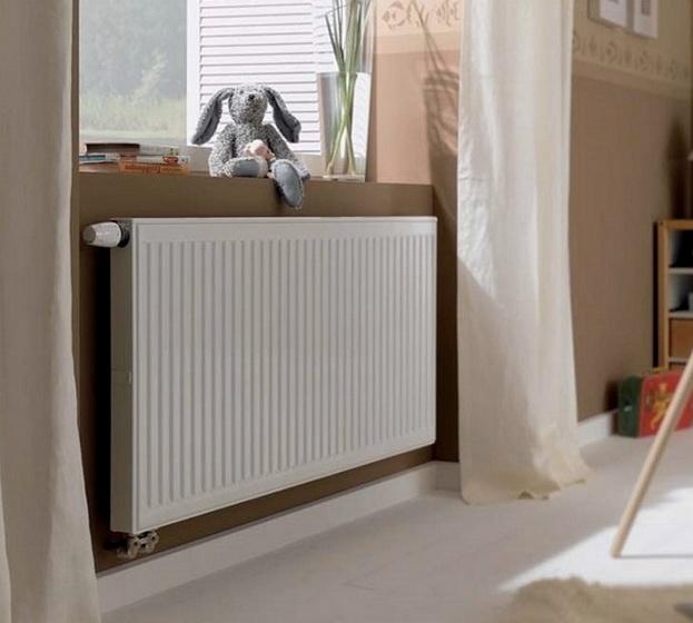 Стальные панельные радиаторы особого внешнего вида
