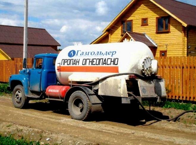 Газ из газгольдера весьма удобен в использовании
