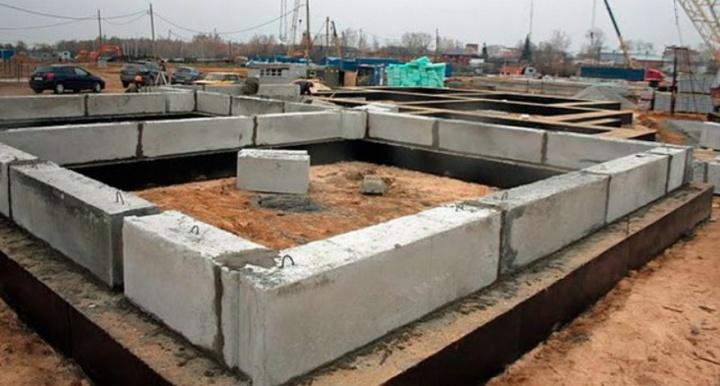 Железобетонные блоки - быстровозводимая конструкция