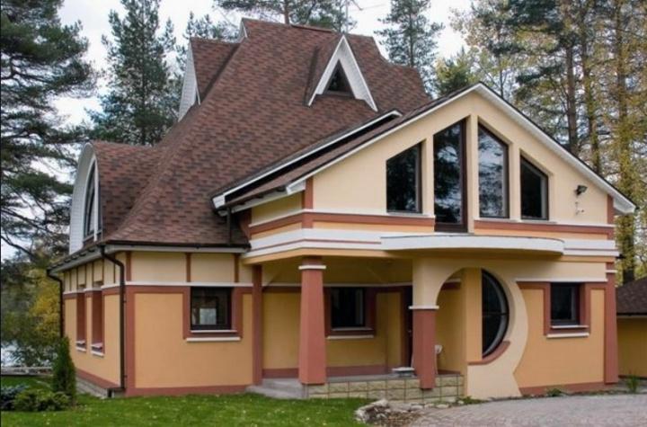 Дом построенный в соответствии с проектом