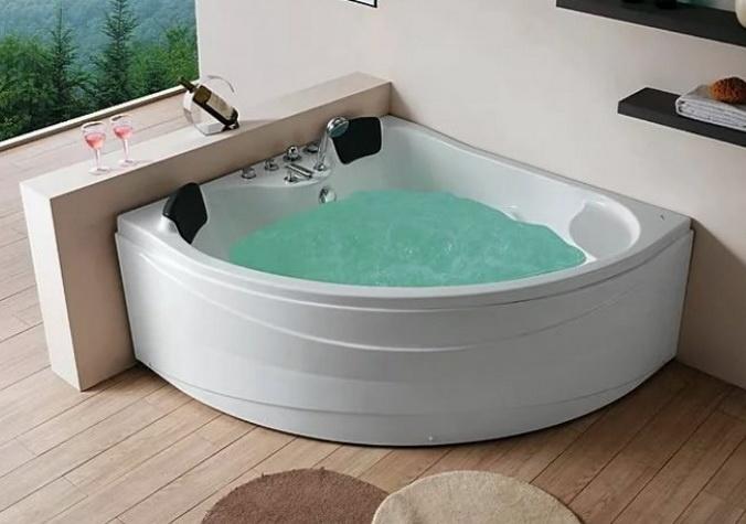 Особенная фигурная ванная