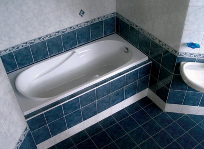 Установка особенной ванны с экранами