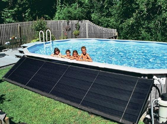 Для нагрева воды от солнца летом