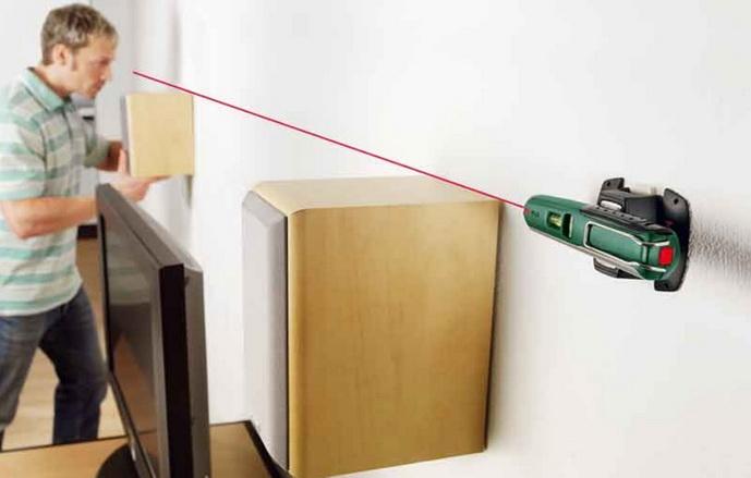 Для бытового использования - одна линия лазерного уровня