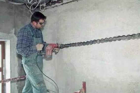Штробы для электропроводки