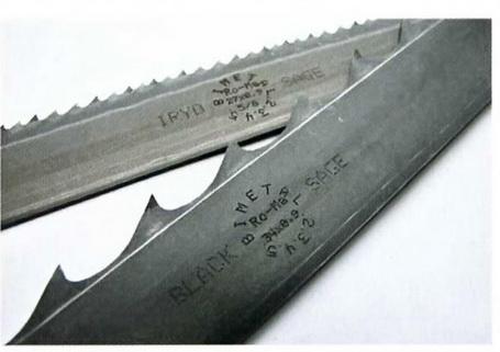 Косой зуб ножовки