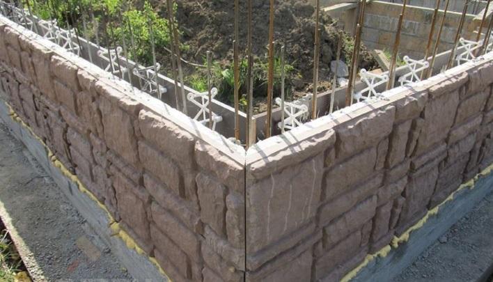 Особая опалубка для стен с отделкой
