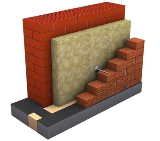Как создается трехслойная стена