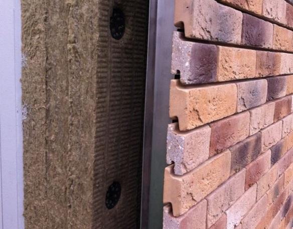 стена с утеплителем