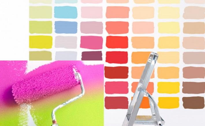 Краска для внутренних работ — подбор качества и цвета, рекомендации