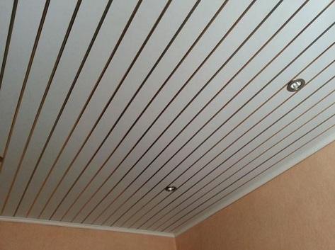 Потолок из пластика - как сделать