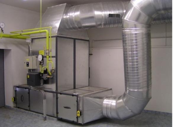 Оборудование воздушного отопления