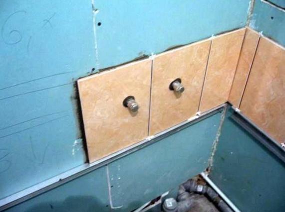 Как правильно разместить плитку на стенах и на полу