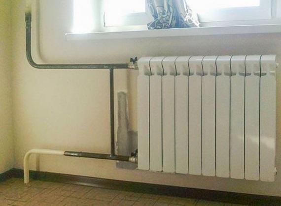 подключение радиатора в квартире